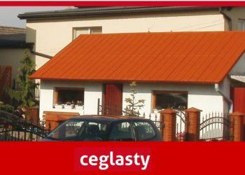 Farba do blachy na dach - aksikor ceglasty